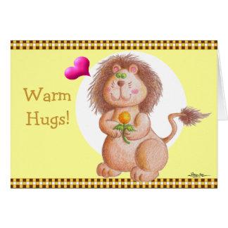 ¡Caliente los abrazos! Felicitaciones
