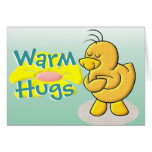Caliente los abrazos tarjeton