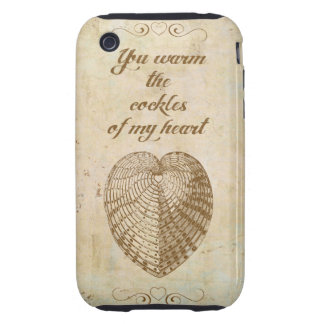 Caliente los berberechos de mi corazón carcasa though para iPhone 3