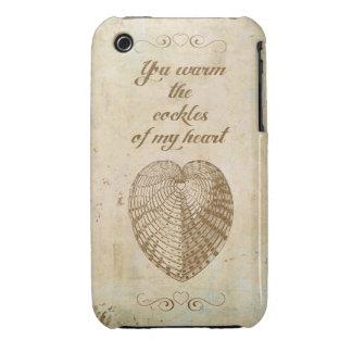 Caliente los berberechos de mi corazón funda para iPhone 3