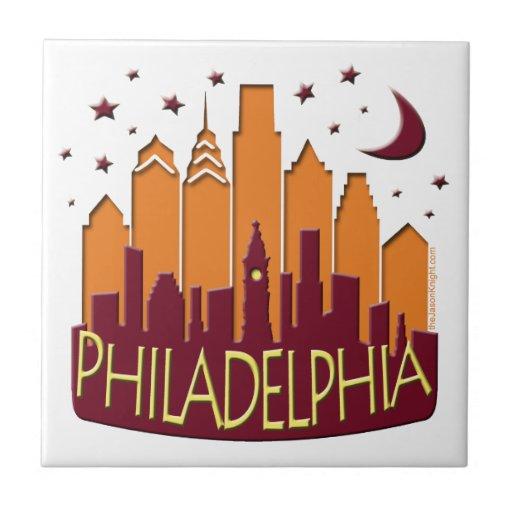 Caliente mega del horizonte de Philadelphia Teja Ceramica