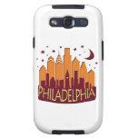 Caliente mega del horizonte de Philadelphia Galaxy SIII Fundas