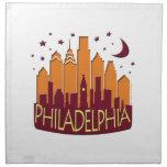 Caliente mega del horizonte de Philadelphia Servilleta