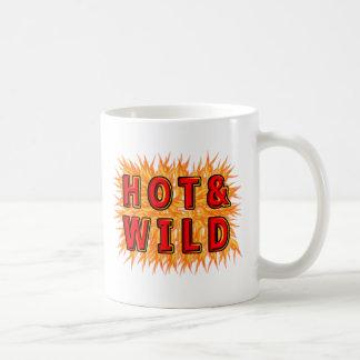 Caliente y salvaje taza de café