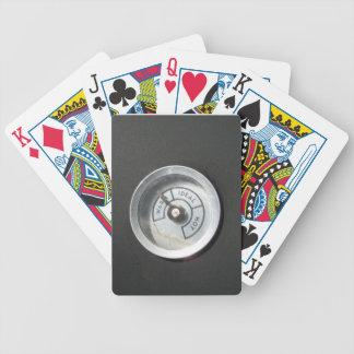 Caliéntese y consiguiendo caliente cartas de juego