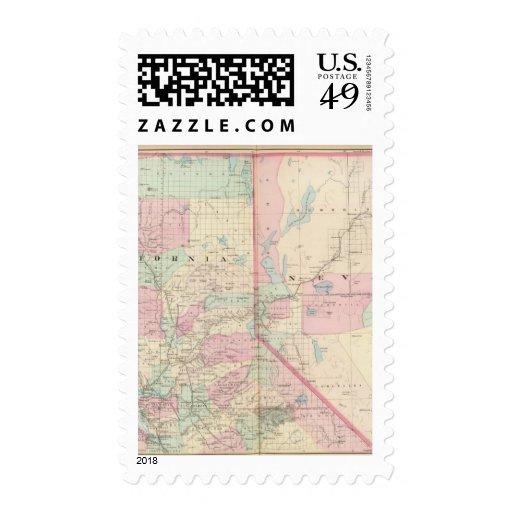 Calif, Nev north Stamps