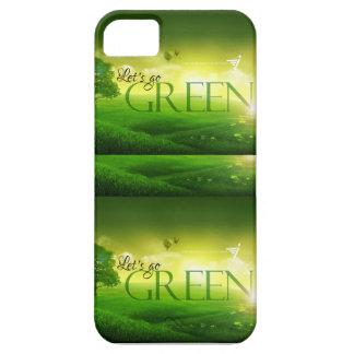 Calificado va el verde iPhone 5 funda