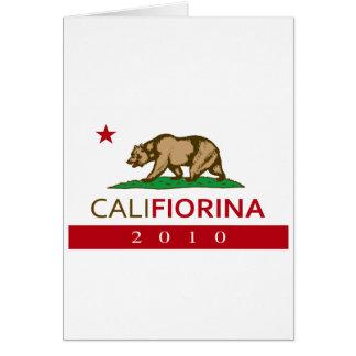 CALIFIORINA CARD