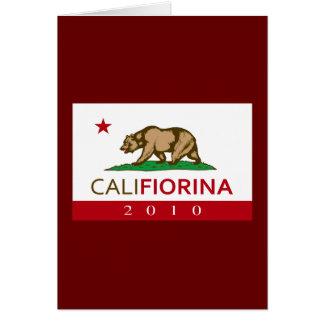 CALIFIORINA GREETING CARD