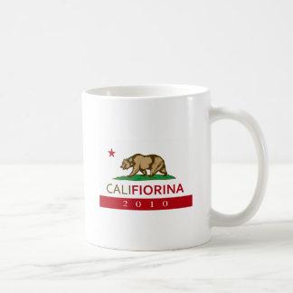 CALIFIORINA TAZA DE CAFÉ
