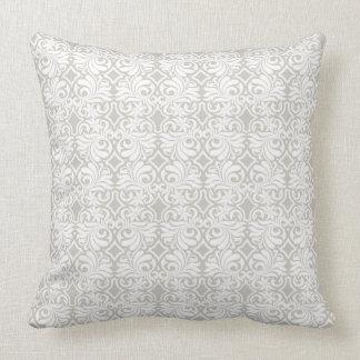 Califique una almohada de tiro del algodón