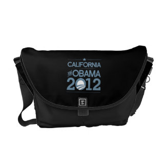 CALIFONIA FOR OBAMA 2012.png Courier Bags