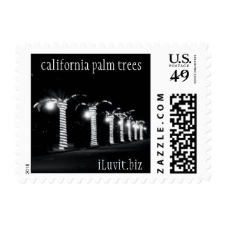 CALIFORINIA PALM TREES by iLuvit.biz 28cents Postage Stamp