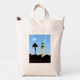 Californai Lighthouse & Palm Tree Duck Bag