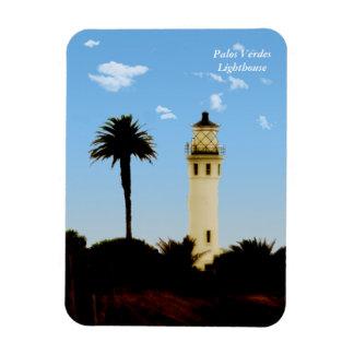 Californai Lighthouse & Palm Tree Magnet