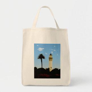 Californai Lighthouse & Palm Tree Tote