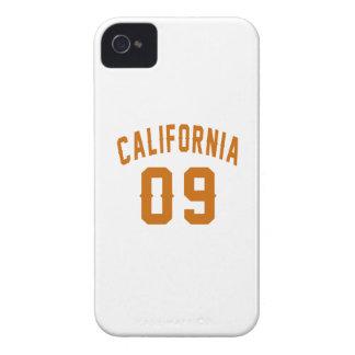 California 09 Birthday Designs iPhone 4 Case