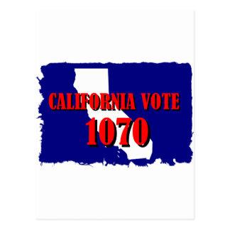 CALIFORNIA 1070 POSTAL