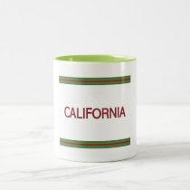 California 11 oz Two-Tone Mug