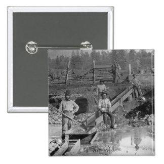 ~ California 1850 de los mineros de la fiebre del  Pins