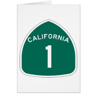 California 1 greeting cards