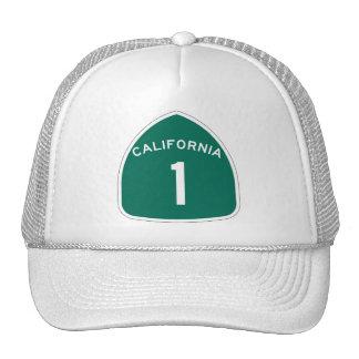 California 1 gorros bordados
