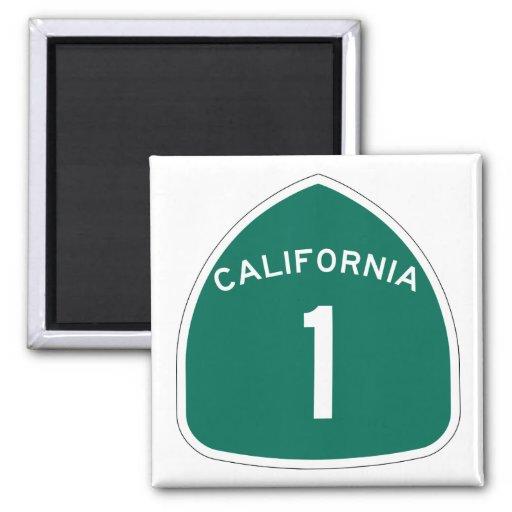 """California 1"" Imanes De Nevera"