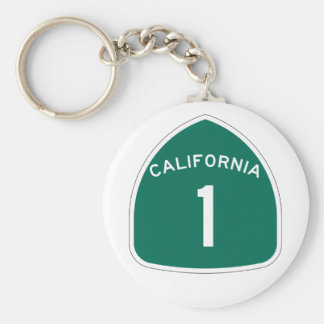 California 1 keychain