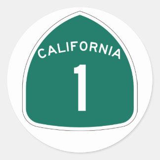 California 1 pegatina