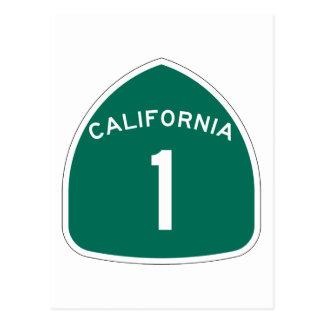 California 1 postcard