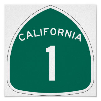 """California 1"" Poster"