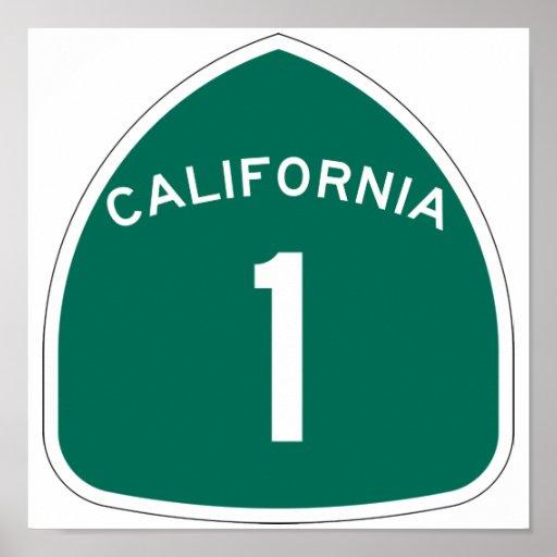 """California 1"" Póster"