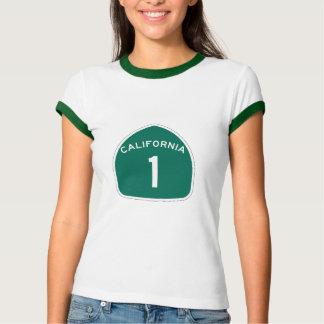 California 1 tee shirts