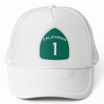 California 1 trucker hat