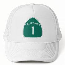 California 1 trucker hat