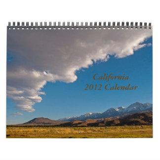 California 2012 Calendar