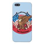 California 2012 para el Huntsman de Jon iPhone 5 Cárcasas
