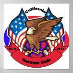 California 2012 para Herman Caín Impresiones