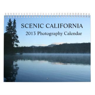 California 2013 ajardina el calendario