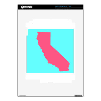 CALIFORNIA 2 DECALS FOR THE iPad 2