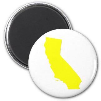 California 2 Inch Round Magnet