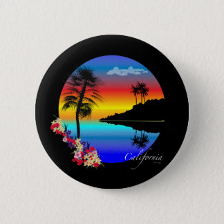 California 2 pinback button