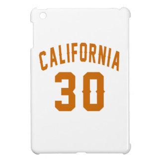 California 30 Birthday Designs iPad Mini Covers