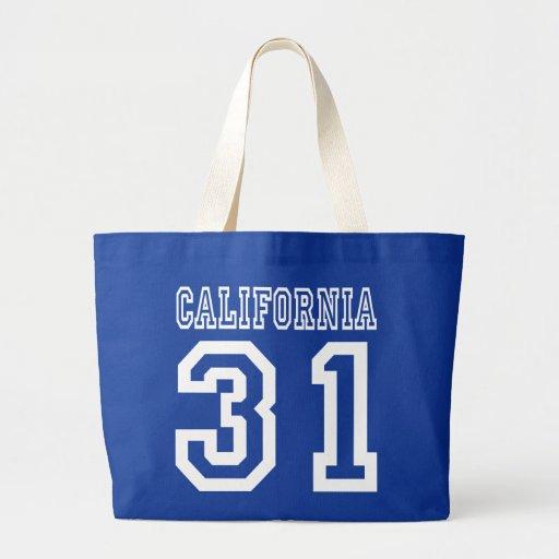 California 31 bolsa tela grande