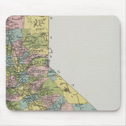 California 3 mouse pad