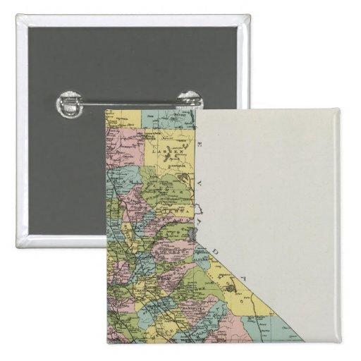 California 3 pin cuadrado