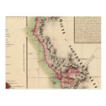 California 46 tarjeta postal