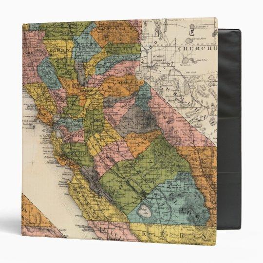 "California 4 carpeta 1 1/2"""
