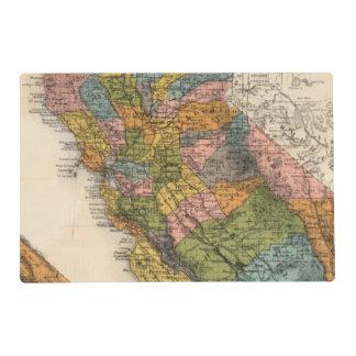 California 4 placemat