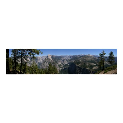 California 5 panorámicos poster